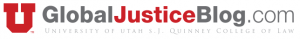 Utah Global Justice Blog Logo