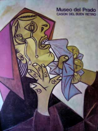 """Picasso's """"Woman Crying with a Handkerchief"""""""