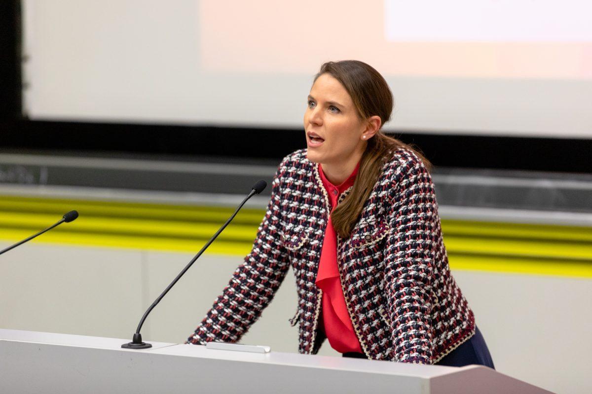 Speaker on Law: Gloria Gaggioli